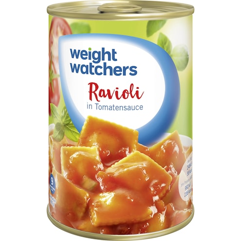 Weight Watchers Ravioli in Tomatensauce Bild 1