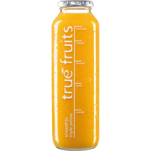 True fruits Triple Yellow Smoothie Bild 1
