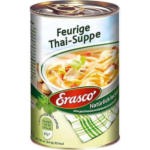 Erasco Feurige Thai-Suppe Bild 1