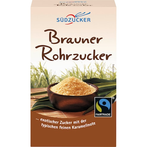 Südzucker Brauner Rohrzucker Fairtrade