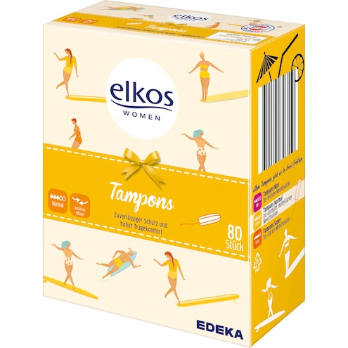 EDEKA elkos Women Tampons normal Bild 1