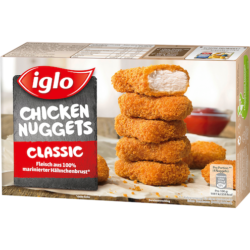 Iglo 12 Chicken Nuggets Bild 1