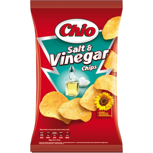 Chio Chips Salt & Vinegar Kartoffelchips Bild 1