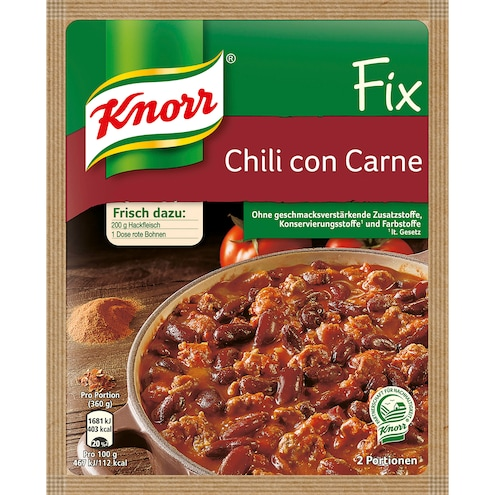 Knorr Fix Chili con Carne Bild 1