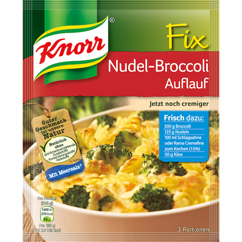 Knorr Fix Nudel Broccoli