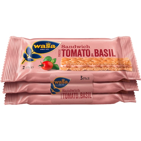 Wasa Sandwich Cream Cheese, tomato & basil Bild 1