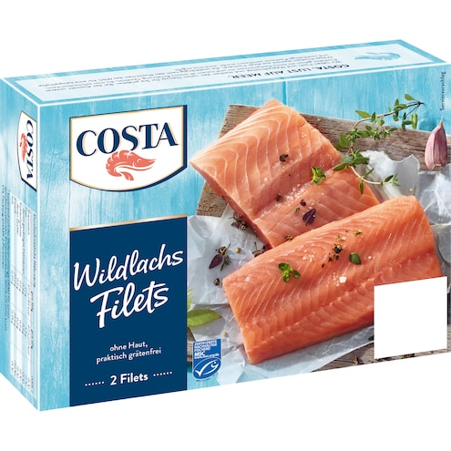 Costa Wildlachs Filets MSC Bild 1