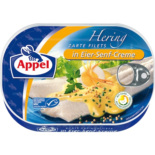 Appel Hering zarte Filets in Eier-Senf-Creme MSC Bild 1