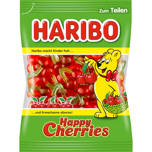 Haribo Happy Cherries Fruchtgummi Bild 1