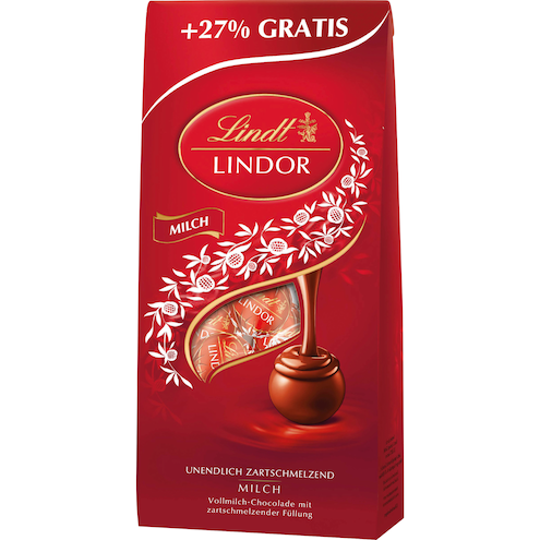 Lindt Lindor Overfill Milch