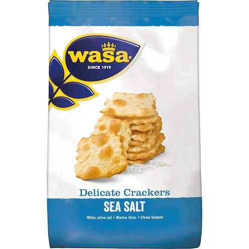 Wasa Delicate Crackers Sea Salt Bild 1