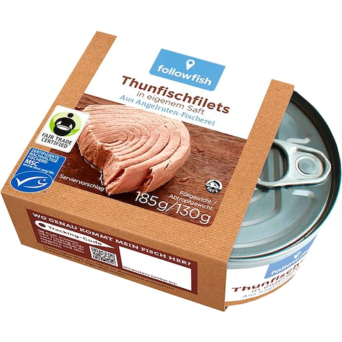 MSC Followfish Thunfisch Filets Natur