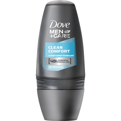 Dove Men+Care Deo Roll-On Clean Comfort Anti-Transpirant