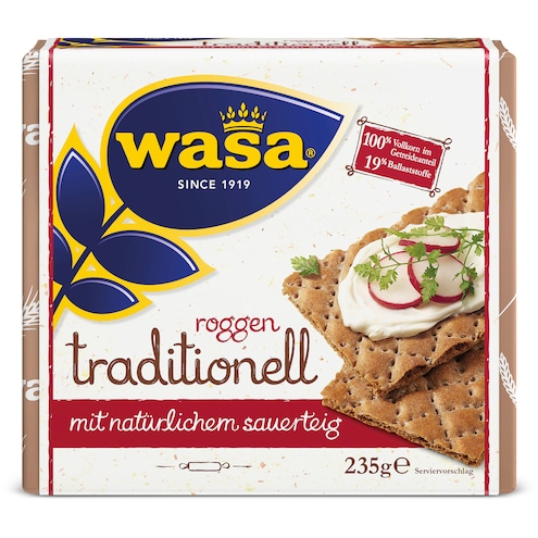Wasa Roggen Traditionell Bild 1
