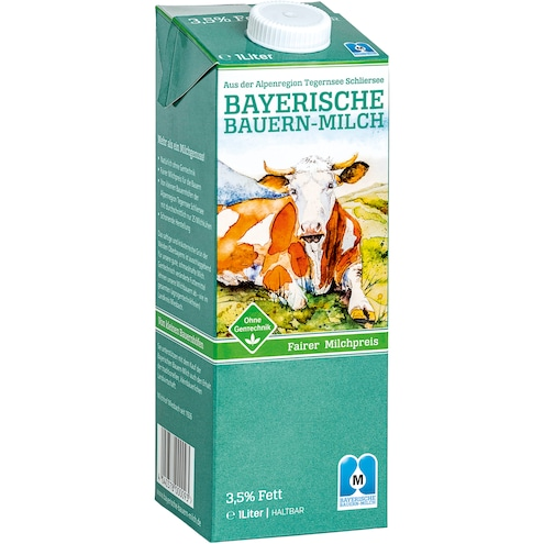 Oberland Milch, 3,5 % Fett