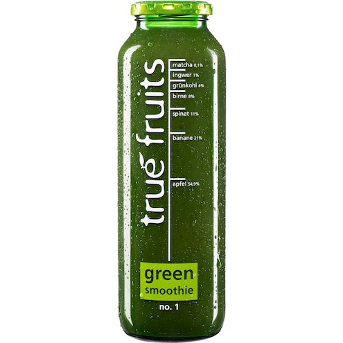 True fruits Smoothie triple green