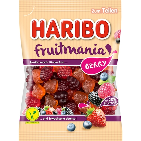 Haribo Fruitmania Berry Bild 1