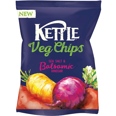 Kettle Vegetable Chips Sea Salt&Balsamico Vinegar