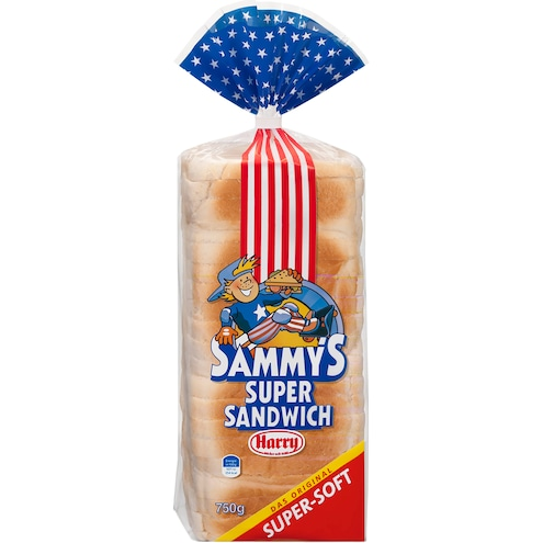 Harry Sammy's Super Sandwich Original Weizenbrot Bild 1