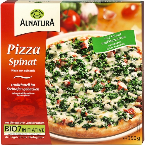 Bio Alnatura Pizza Spinat