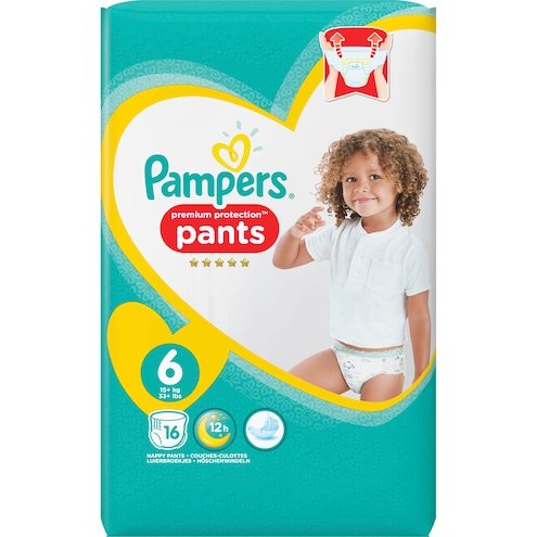 Pampers Premium Protection Extra Large Pants Gr.6 15+kg Tragepack