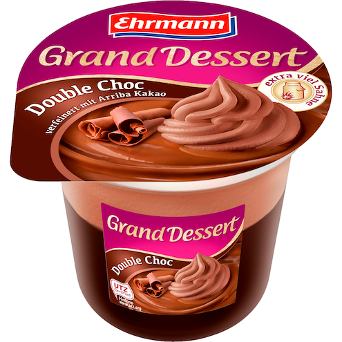 Ehrmann Grand Dessert Double Choc
