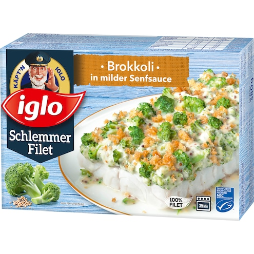 Iglo Schlemmer-Filet Brokkoli in milder Senfsauce