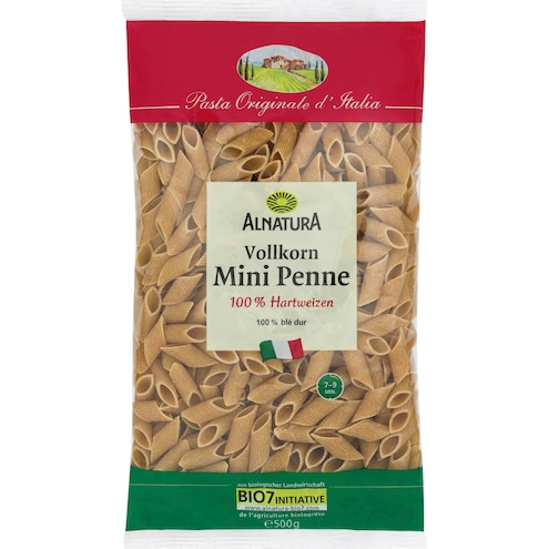 Bio Alnatura Vollkorn Mini Penne