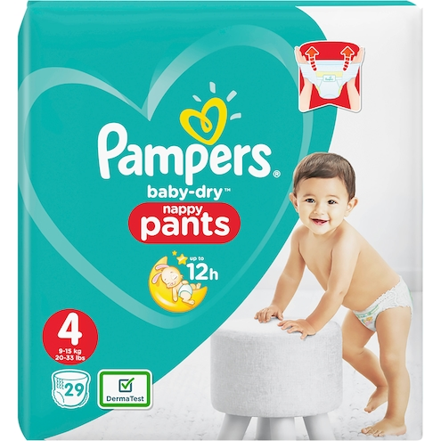 Pampers baby-dry Maxi Pants Gr.4 9-15kg