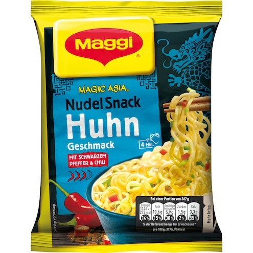 Maggi Magic Asia Nudel Snack Instant Huhn