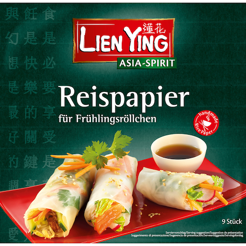 379a1c23429ade Lien Ying Asian-Spirit Reispapier für Frühlingsröllchen handgemacht ...