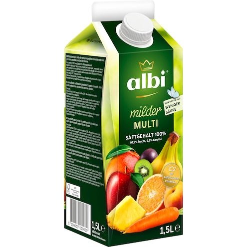 Albi milder Multivitaminsaft