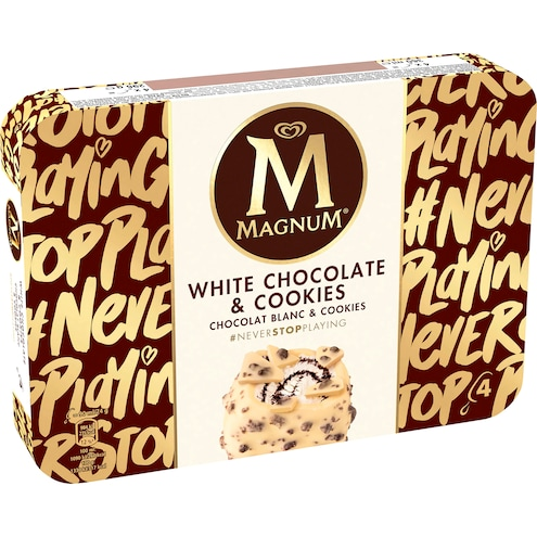 Langnese Magnum White Choco Cookie