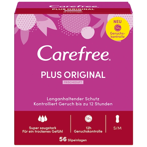 Carefree Plus Original Fresh Slipeinlagen