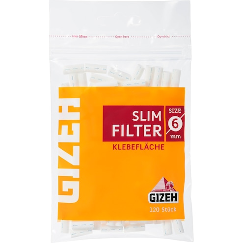 Gizeh Slim Filter Size 6 mm Bild 1