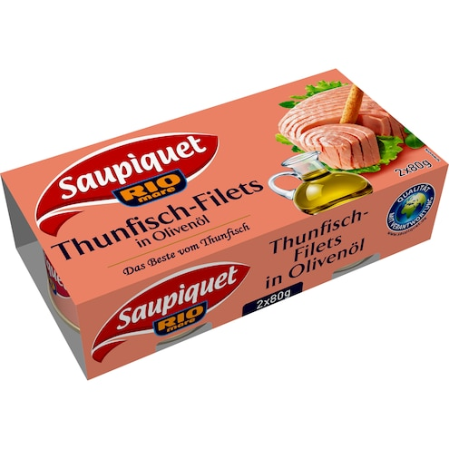 Saupiquet Thunfisch-Filet in Olivenöl Bild 1