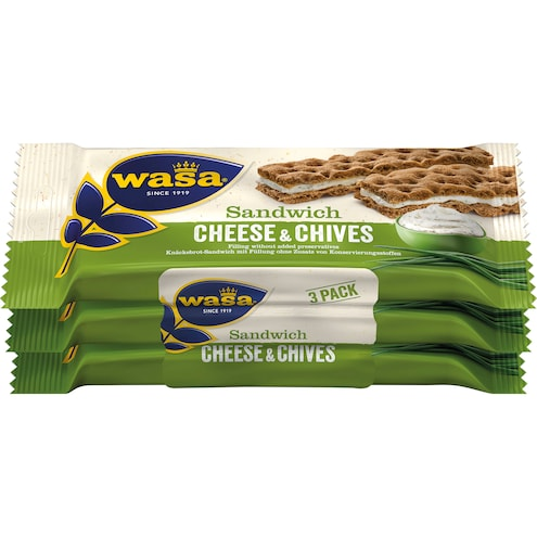Wasa Sandwich Cream Cheese & Chives Bild 1