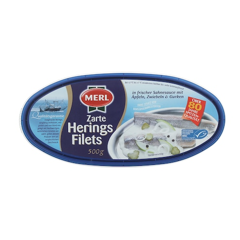 Merl Zarte Herings Filets