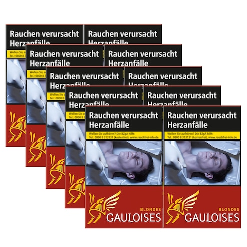 Gauloises Blondes Rot