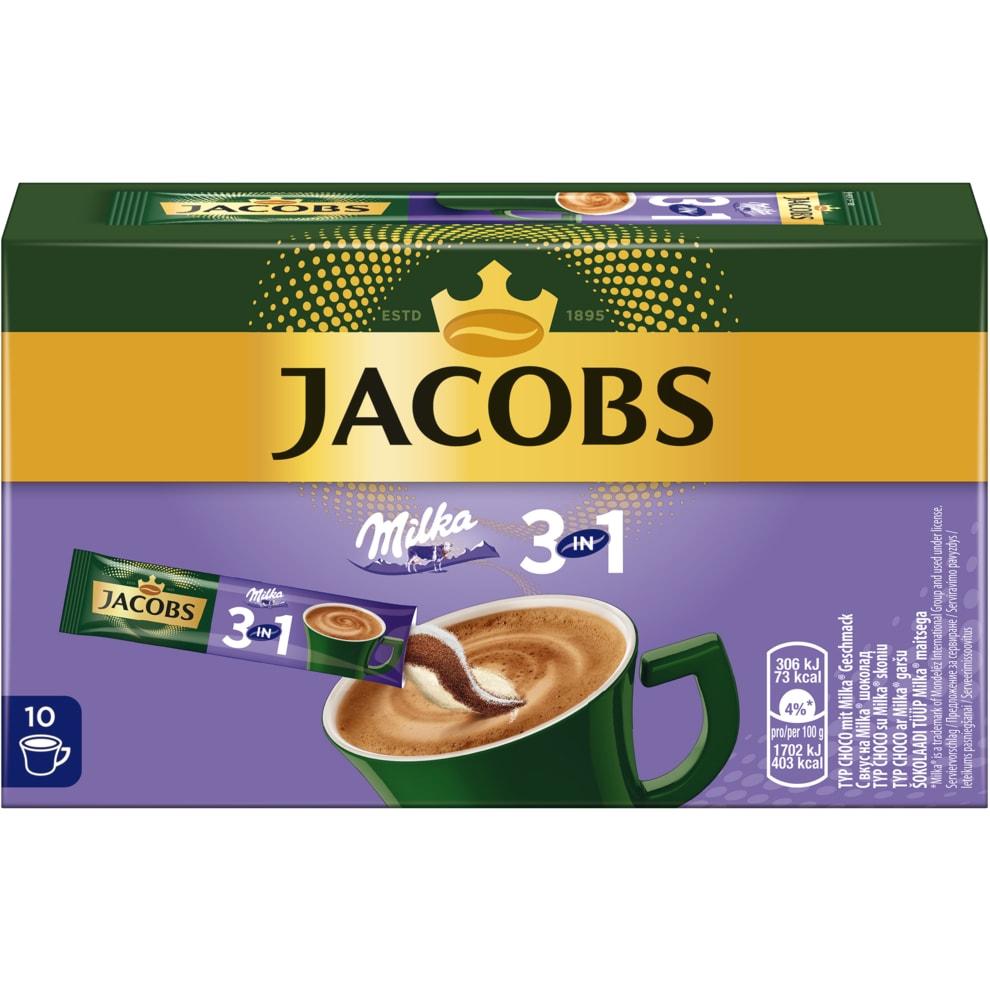 Jacobs Kaffee Instant Getränk 3in1 Milka   bei Bringmeister online  bestellen!