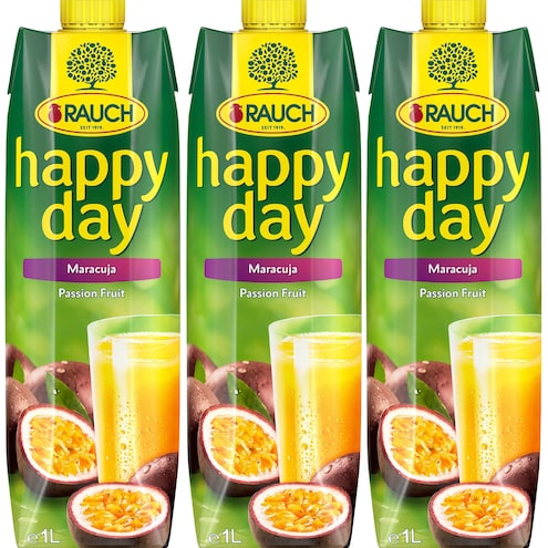 Rauch Happy Day Maracuja Passion Fruit